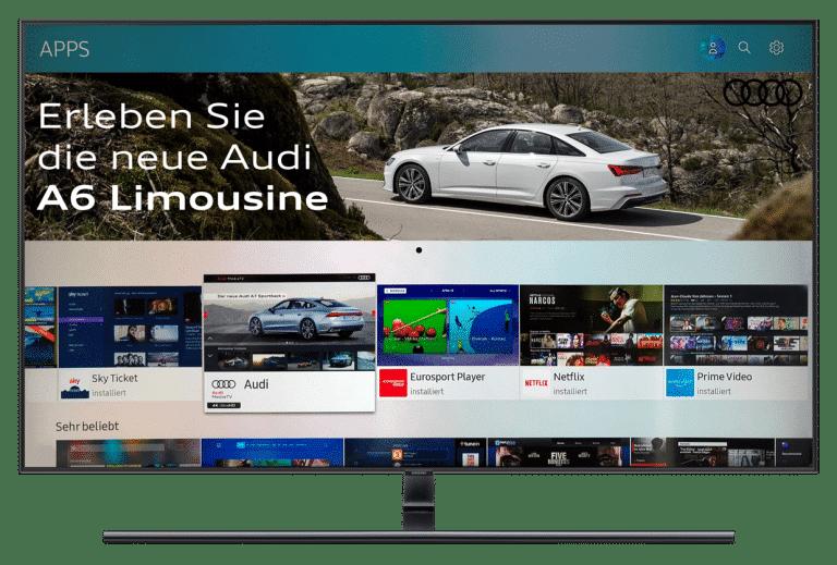 Smart Tv Werbung